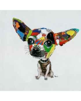 Картина маслом Chihuahua 50x50cm