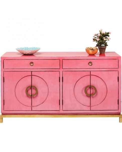 Комод Disk Pink