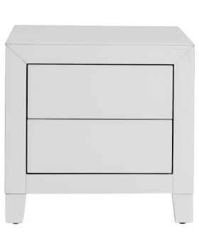 Тумба Luxury Push 2 Drawers White