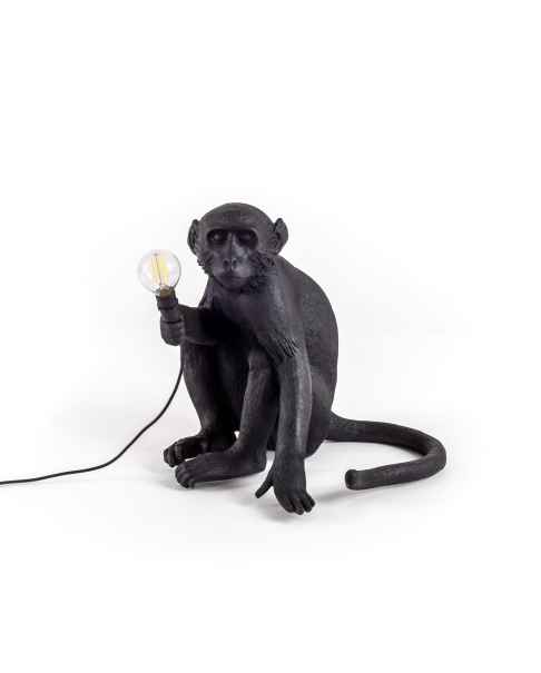 Настольная лампа The Monkey Black