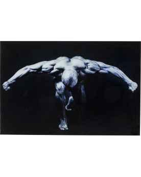 Картина на стекле Body Art  80x120cm