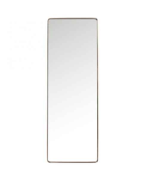 Напольное зеркало Curve Rectangular Copper 200x70cm
