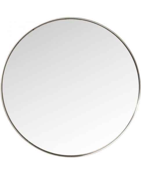 Настенное зеркало Curve Round Stainless Steel Ø100cm