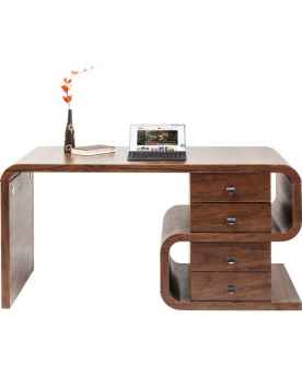 Письменный стол Soft Snake Walnut 150x70cm
