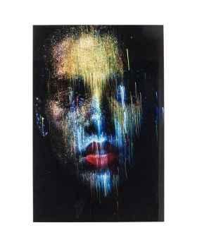 Картина на стекле Face the World Front 120x80cm