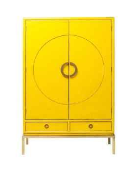 Шкаф Disk Yellow