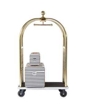 Тележка для багажа VIP Baggage Trolley Vegas Gold