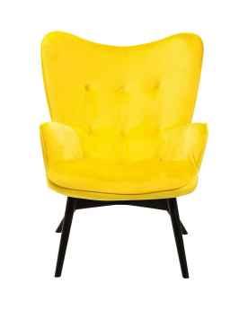 Кресло Vicky Velvet Yellow