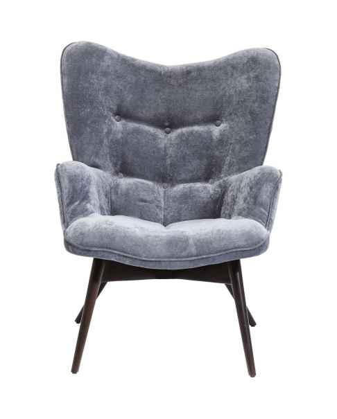 Кресло Vicky Velvet Grey