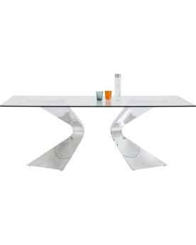 Стол Gloria Chrome 200x100cm