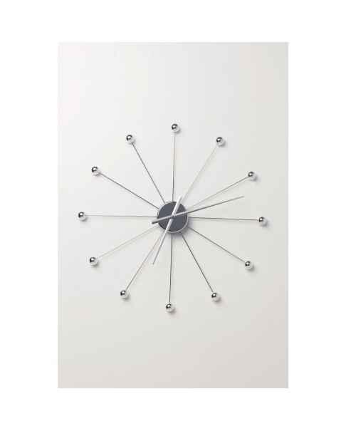 Настенные часы Like Umbrella Balls Chrome