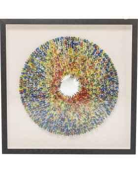 Настенный декор Colour Explosion 120x120cm