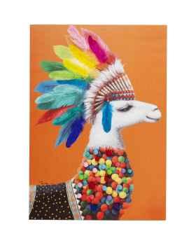Картина Lama Chief 100x70cm