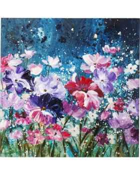 Картина маслом Flower Garden 100x100cm
