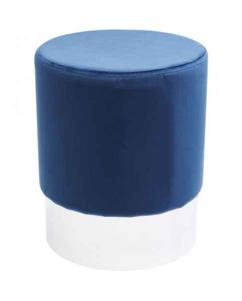 Пуф Cherry Blue Silver Ø35cm