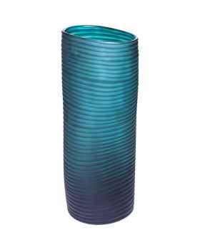 Ваза Swirl Turquoise 36cm