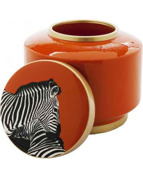Декоративный кувшин Zebra Orange 19cm