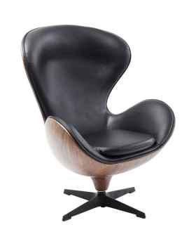 Вращающееся кресло Loung Black Walnut