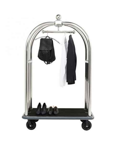 Тележка для багажа VIP Baggage Trolley Vegas Silver