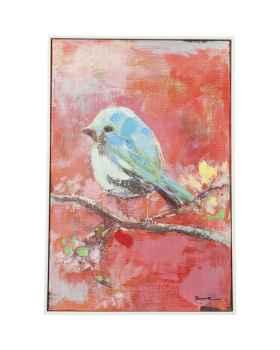 Картина маслом Bird Red Back 60x40cm