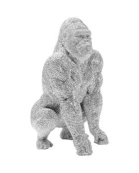 Статуэтка Shiny Gorilla Silver 46cm