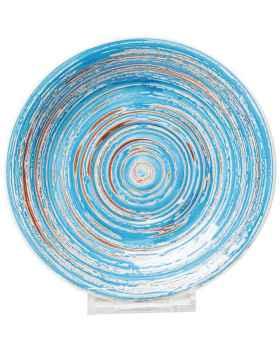 Тарелка Swirl Blue Ø19cm