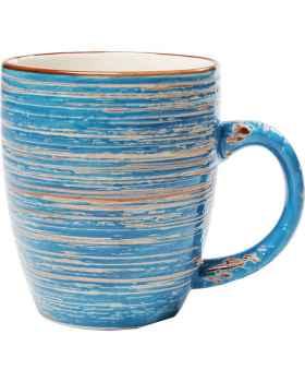 Чашка Swirl Blue