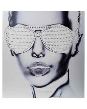 Картина на металле Alu Cool Girl 120x120cm