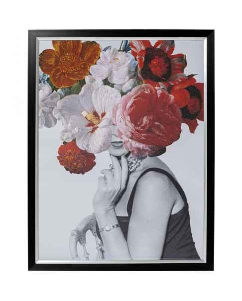 Картина в раме Flower Lady 152x117cm