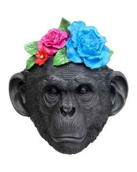 Настенный декор Mask Monkey Flower