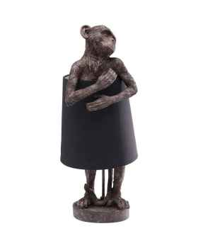 Настольная лампа Animal Monkey Brown Black