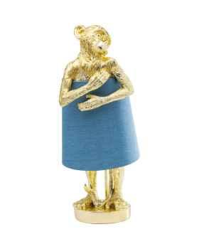 Настольная лампа Animal Monkey Gold Blue