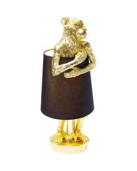 Настольная лампа Animal Monkey Gold Black