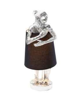 Настольная лампа Animal Monkey Silver Black