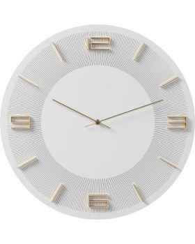Настенные часы Leonardo White/Gold