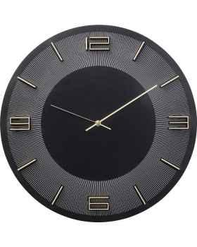Настенные часы Leonardo Black/Gold
