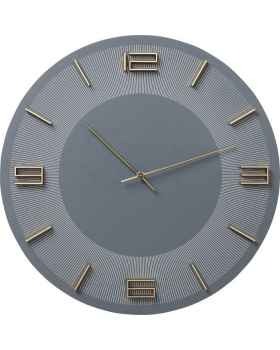 Настенные часы Leonardo Grey/Gold