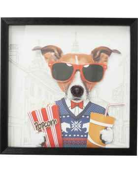 Картина в раме Art Cinema Dog 50x50cm