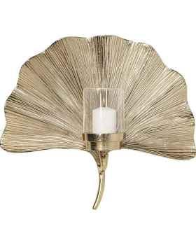 Настенный подсвечник Ginkgo Leaf 45cm
