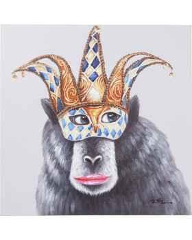 Картина Carnival Monkey 70x70cm