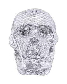 Деко фигура Crystal Skull Silver Small