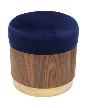 Пуф Lilly Blue Ø39cm