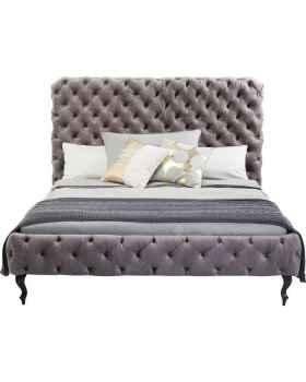 Кровать Desire High Silver Grey 180x200 cm