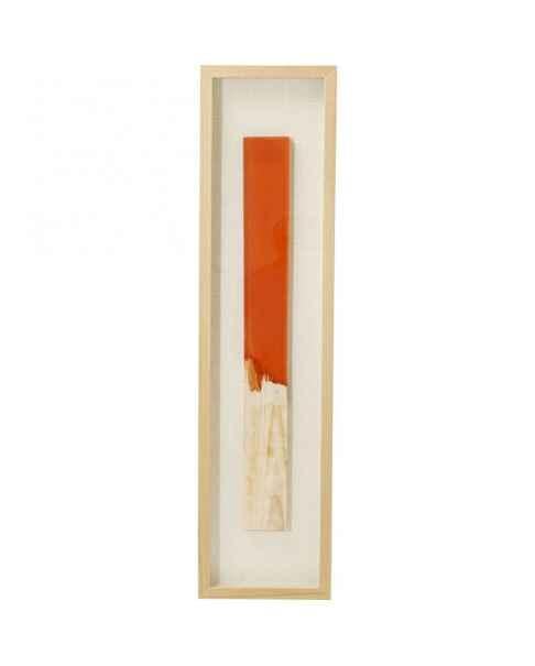 Настенный декор Match Orange 120x30cm