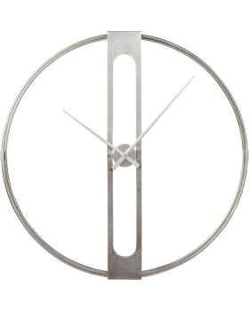Настенные часы Clip Silver Ø107cm