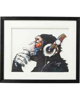 Картина в раме Art Monkey Musik 60x50cm