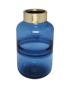 Ваза Positano Belly Blue 28cm