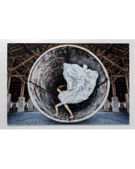 Картина на стекле Time Traveller 120x180cm