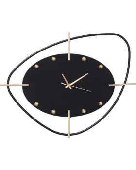 Настенные часы Viva Black