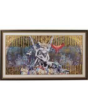 Картина в раме Lovers 180x106cm